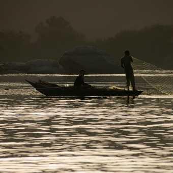 Nile fishermen, Aswan