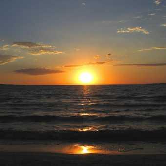 Vic sunset