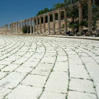 Jerash - the Forum