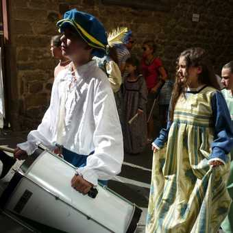 Castelnuovo - traditional procession