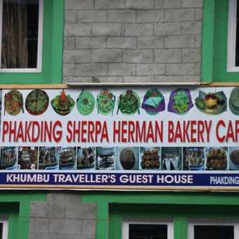 German Bakery Cafe in Everest Region