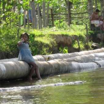 Local children, Orinoco Delta, Venezuela