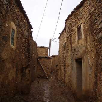'Rush hour', Berber village
