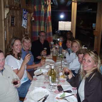 Dinner at Christianos