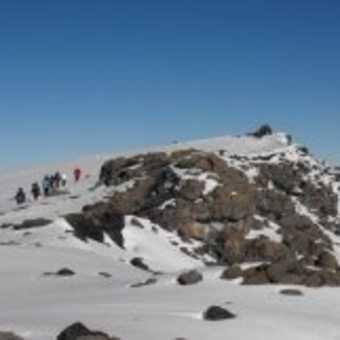 Uhuru peak nearly there