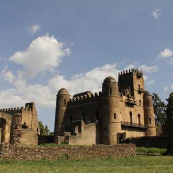 One of the castles in Gondar