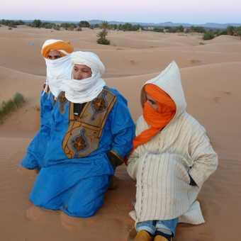 Berbers at sunrise.