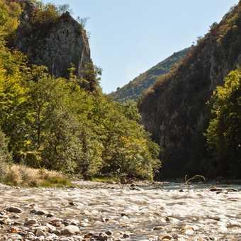 Failed attempt to capture a misty Neretva and Rakitnica confluence