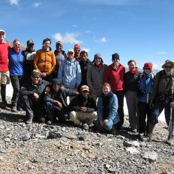 Group photo on the Parang La (5580m - 18,310ft)