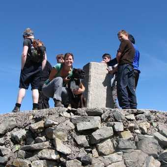 Ben Nevis summit - July 09