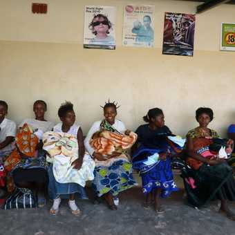 Woman and Baby Clinic day Kasalu