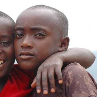 Boys in Rwanda