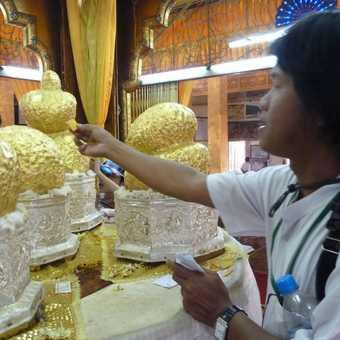 Thura at Phaung Daw Oo Paya, Inle Lake