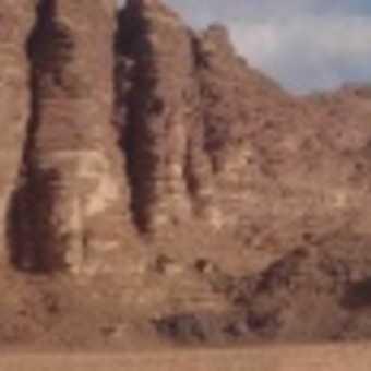 Entering Wadi Rum
