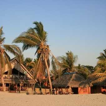 Our beach bungalows at Morondava