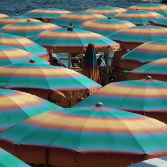 Amalfi town beach