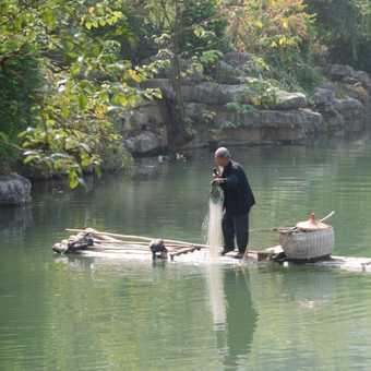 Yangshou fisherman