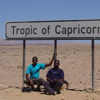 randy and gheko at the tropic of capricorn