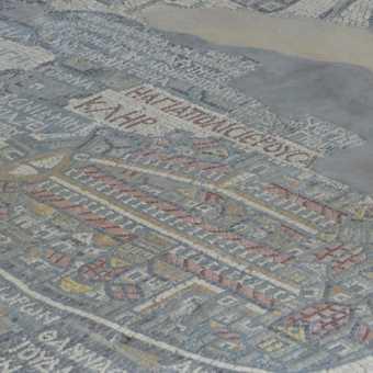 6th century mosaic map of Jerusalem