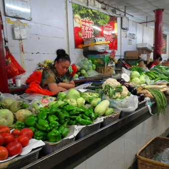 Beijing covered msrket