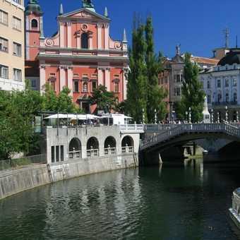 Presernov Trg and Triple Bridge