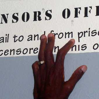 Censorship on Robben Island.
