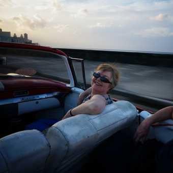 Cruising the Malecon, Havana