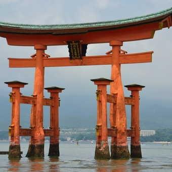 Floating Torii gate, Miyajima
