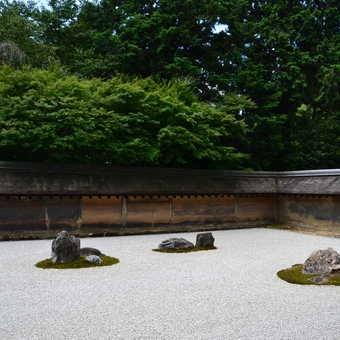 Ryoan-ji garden, Kyoto