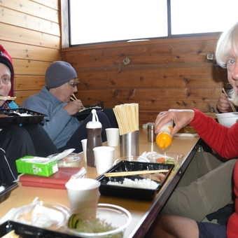 Dinner, Fuji lodge 8.5