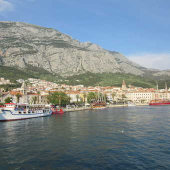leaving Makarska for Brac