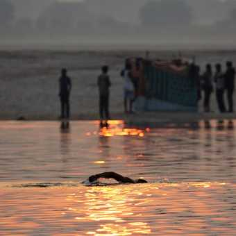The Ganges swim