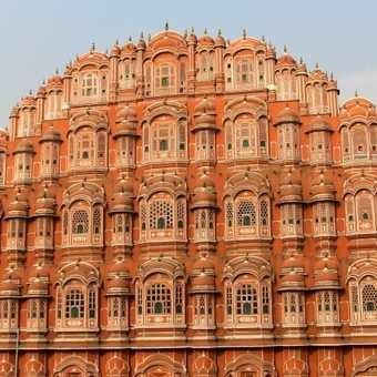 The city facade