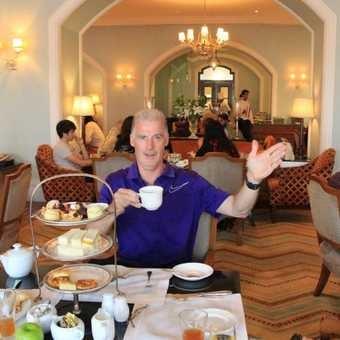 High tea at the Tag Palace Hotel Mumbai