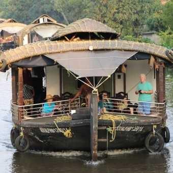 'Chillaxing' in the backwaters of Kerala