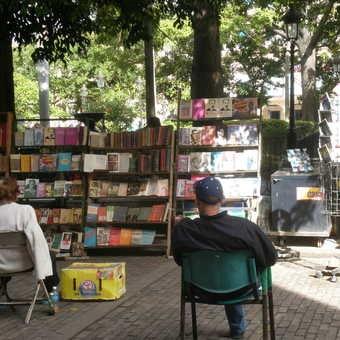 Book sellers, Havana