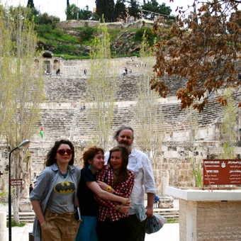 The amphitheatre in Amman