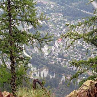 Neil Pittaway mountain path near Chamonix