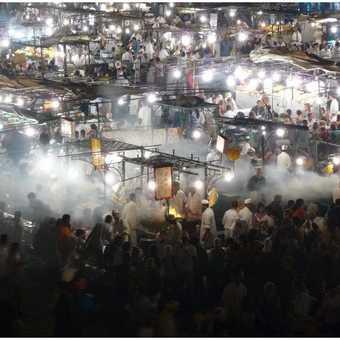 Marrakesh market squar