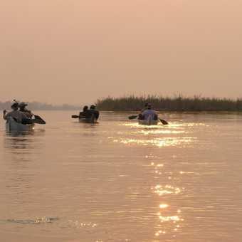 Dawn on the Zambezi