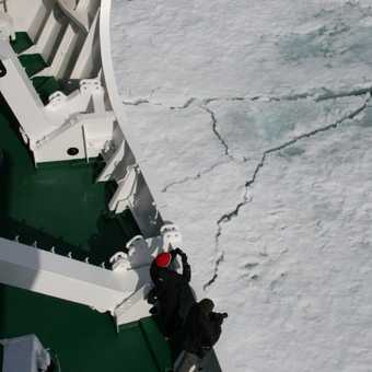 Reaching the ice