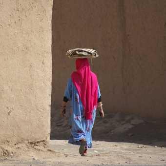 Saharan woman