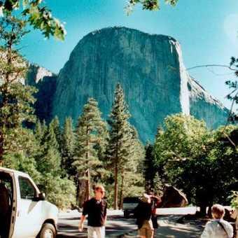 El Capitan in Yosemite NP