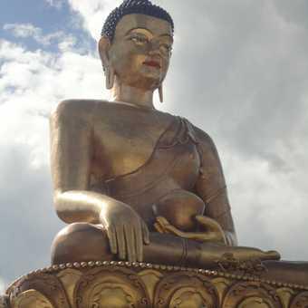 THE 51.5M BUDDHA STATUE AT KUENSEL PHODRANG