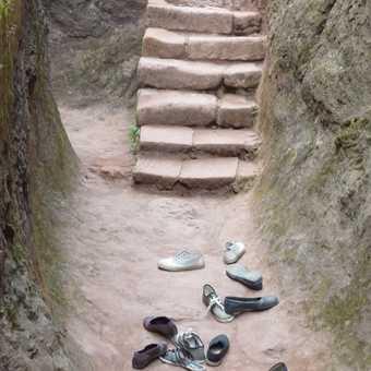 Shoes at Lalibela