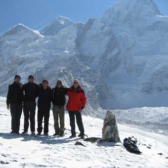 Below Everest
