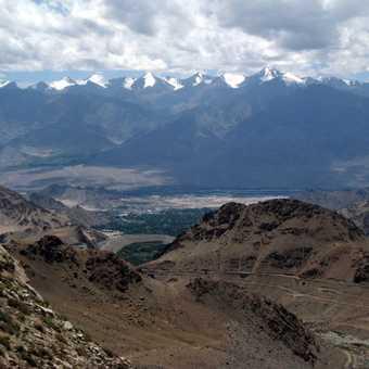 View to the Stok Range