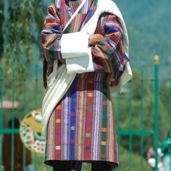 Man in Gho - Thimpu