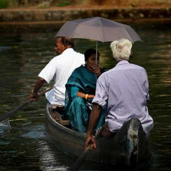 crossing the backwaters