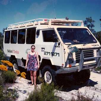 Tour bus, WA